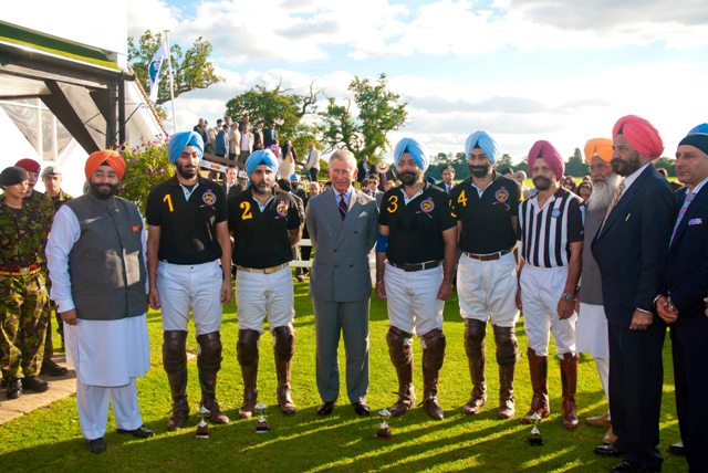 Commemorating History With A Game Of Polo  Saragarhi Battle Honoured As British Army Team Takes On Indian Polo Team