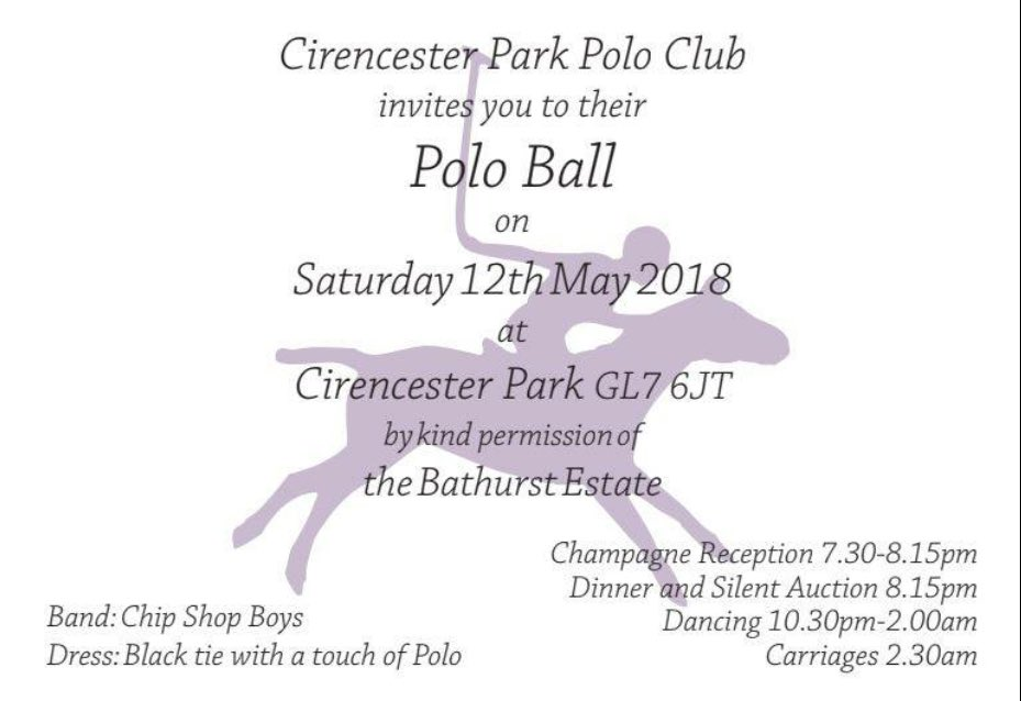The Polo Ball 2018