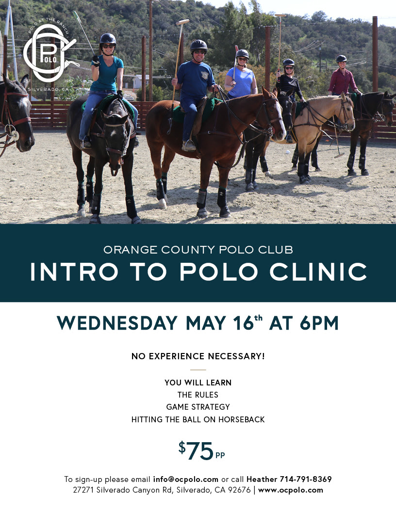 Introduction to Polo Clinic May 16th