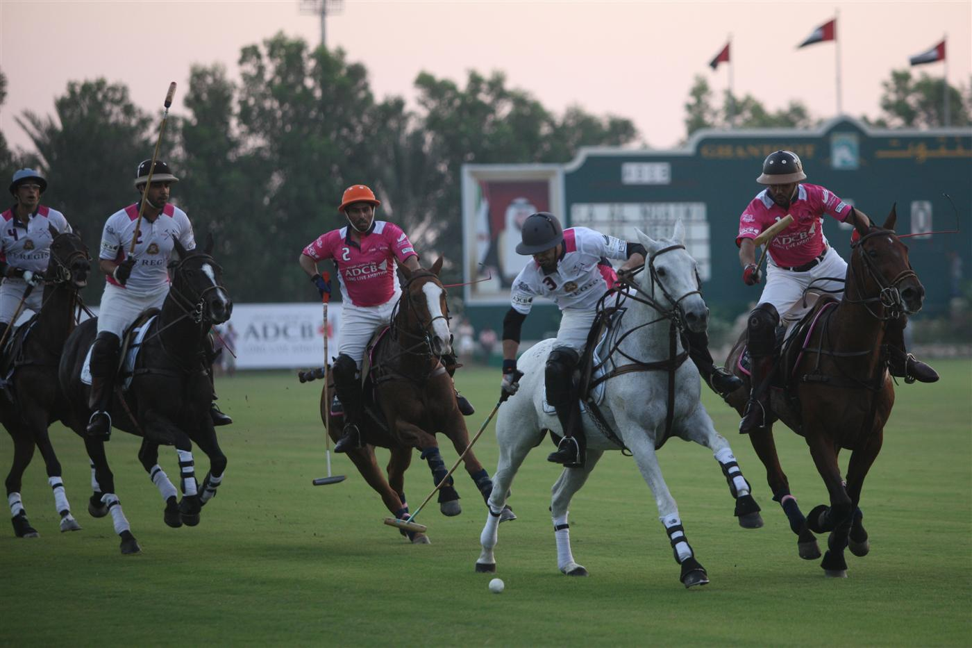 Pink Polo action 2