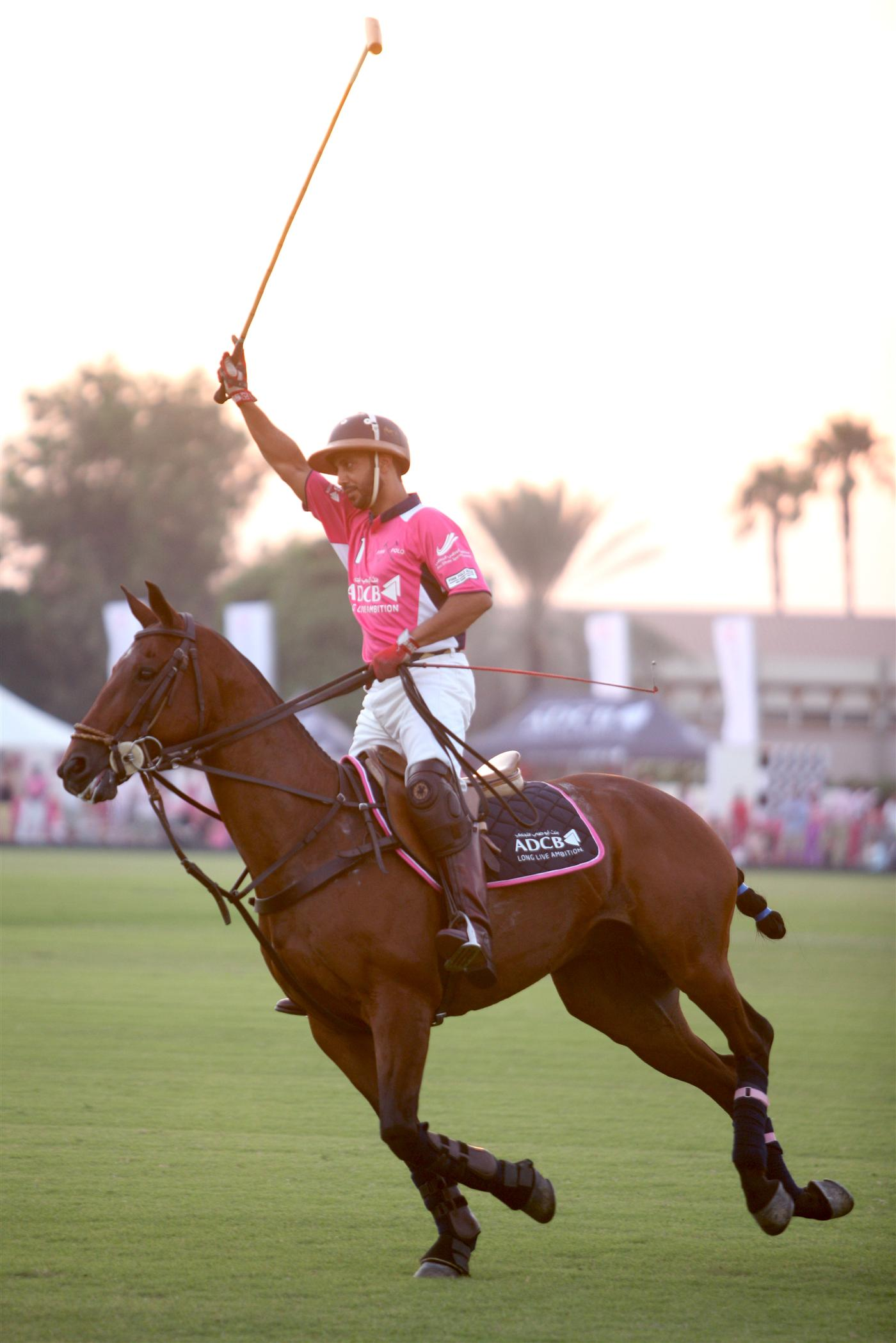 Pink Polo action 3