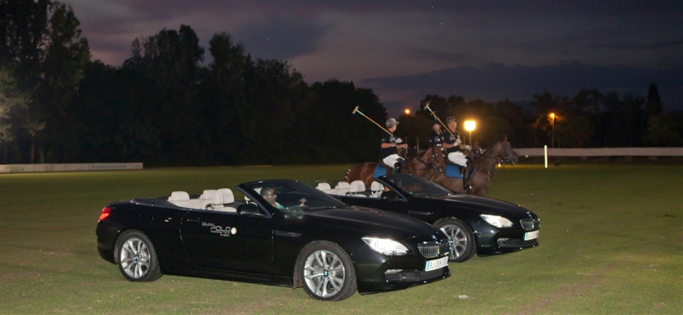BMW Polo Masters By Night