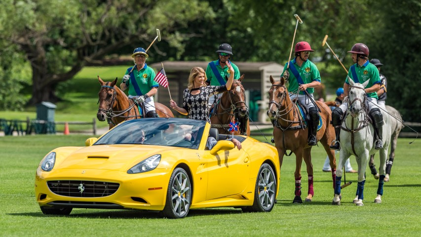 "Oak Brook Polo Team Defeats Team Zeralda  14-9 in ""Commander's Cup"""